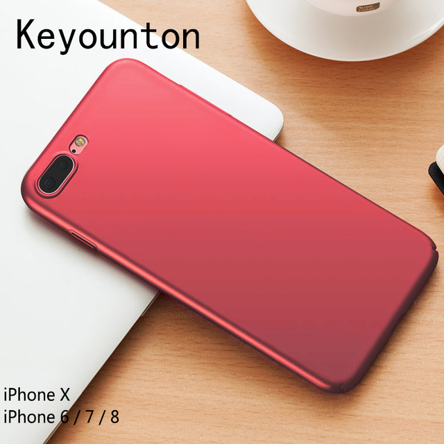 new products 5c7a3 2e8fd US $1.39 30% OFF|For iPhone 8 Case Protective Matte Hard Back Cover  Victoria/' secret Phone bag for iphone X 6/7/8 cases for iPhone X 6S 7 Plus  -in ...