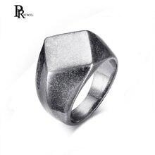 Кольцо мужское из нержавеющей стали в винтажном стиле литая