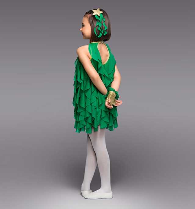 38de3f176 ... Girls Show Clothing Cute Princess Dress Costumes Dance Clothes  Christmas Tree Forestry