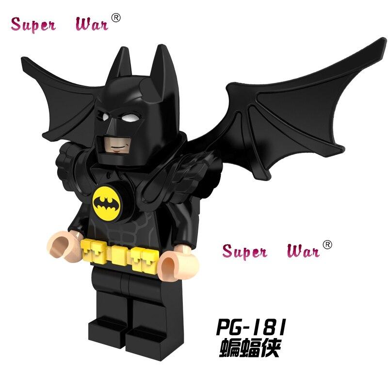20 штук Звездные войны супергероев Marvel DC Comics Бэтмен крылья строительные блоки кирпичи модели классический Обучение Образование MCU детские и...