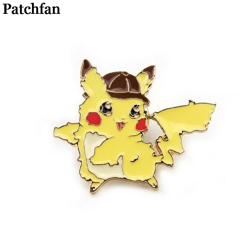 Pocket monster Zinc Cartoon Pins for men women para Shirt Charm insignia Clothes backpack Accessories medal Badge Brooches A2113