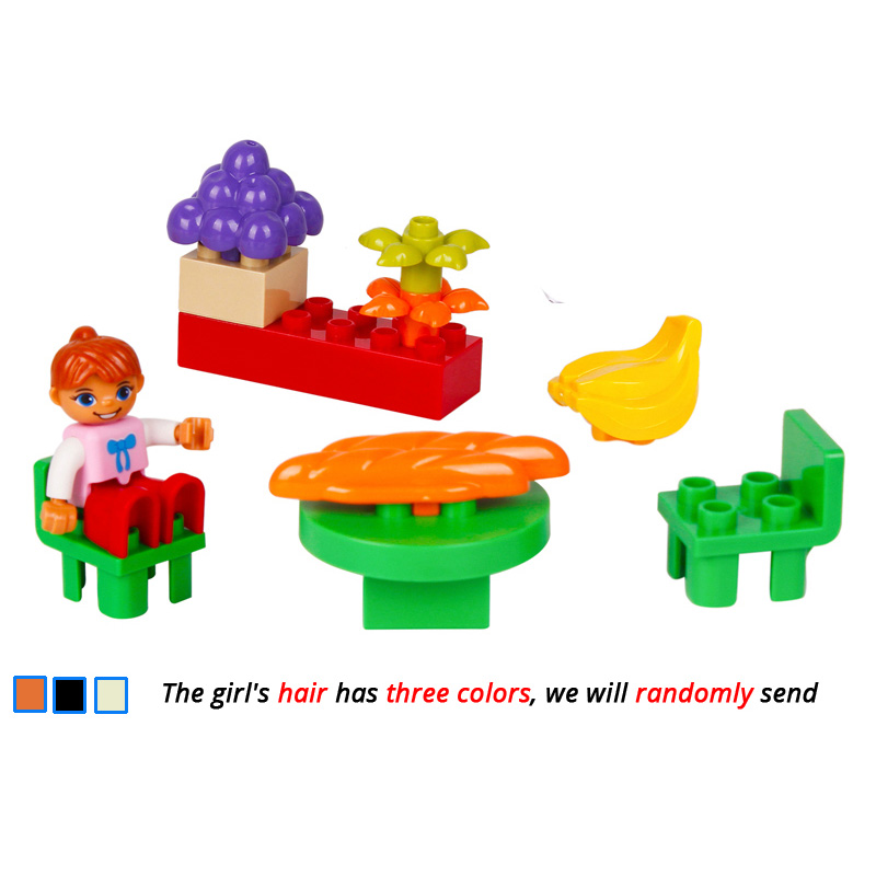 UMEILE-16-Style-Original-Classic-Big-Building-Block-Cowboy-Cake-City-Girl-Figure-Kids-Toys-Compatible-with-Duplo-Christmas-Gift-3