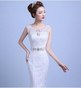 Image 5 - Fashion Elegant Sweetheart Lace Wedding Dress 2020 for Wedding Bride Mermaid Dresses Vestidos De Baratos Wedding Gowns