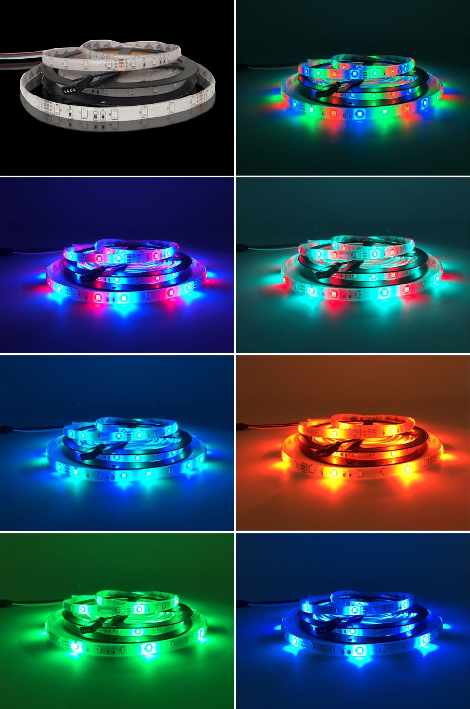 5 10 15 20m waterproof flexible strip led light underwater pool bath spa remote ebay. Black Bedroom Furniture Sets. Home Design Ideas