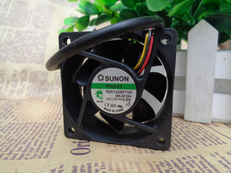 for Sanyo 109R 0624 M 4D 03 24V 0.04A 6 cm 6025 60 60 25 3-Wire Cooling Fan