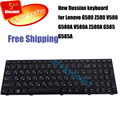 Free Shipping 100% New Russian keyboard for Lenovo G580 Z580 V580 G580A V580A Z580A G585 G585A laptop keyboard russian layout