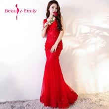 cffb6d0155d11 Sıcak satış V Yaka ince kırmızı abiye uzun seksi balo abiye şık çiçek ve  kristal mezuniyet elbiseleri vestido de festa