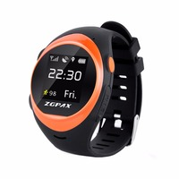 ZGPAX S888A IPS Screen Waterproof Smartwatch WiFi GPS Tracking Watch, Support SIM Card, 2G Network, Accurate Positioning