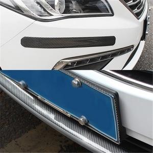 Image 3 - Partol 5cmx2m Car Sticker 5D Carbon Fiber Rubber Car Styling Auto Door Sill Protector Cover Anti Scratch For Auto Head Rear