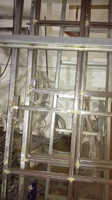Aliexpress Buy Glass Metal Steel Iron French Doors Hc Id17