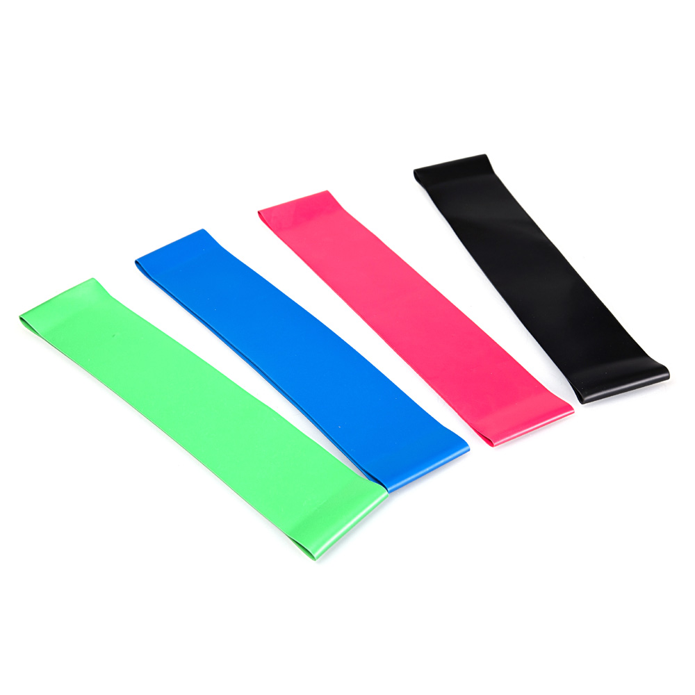Treningsmotstand Loop Bands Fitness Stretch-Elastic Power Vekt Bands- Strength Performance Bands