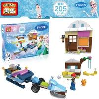 Черный конь небольшой зерна строительных детские головоломки собирает здания игрушки девушки вилла слой 8002