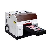 A4 Flatbed Printing UV Inkjet Printer Machine