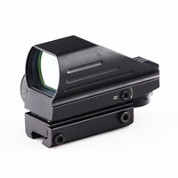 BIJIA Tactical Reflex Red/Green Laser 4 Reticle Dot Sight Scope Airgun Rifle sight Hunting Rail Mount 11mm/20mm