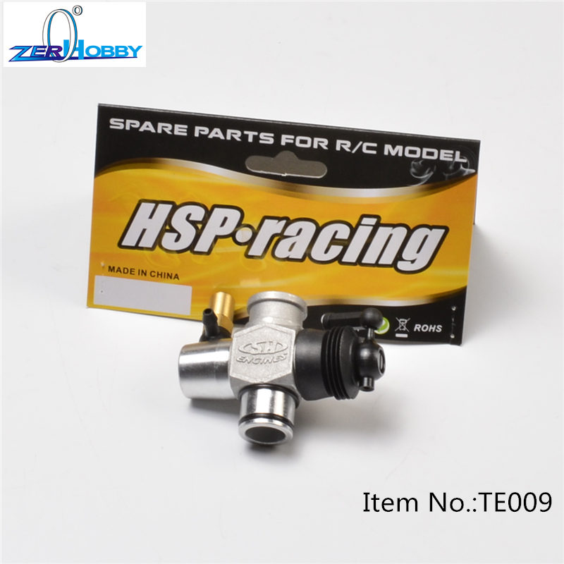 RC CAR SPARE PARTS ACCESSORIES TE009 HSP ENGINE CARBURETOR 60065 differential gear set for hsp rc 1 8 model car spare parts 94760 94761 94763