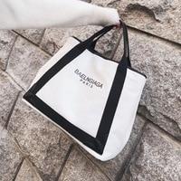 Handbag women 2019 new style Canvas big capacity wenyifans ladies hand bags Totes designer handbags high quality shoulder bag