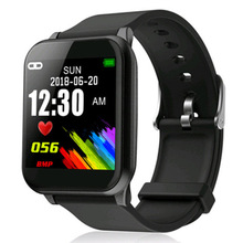 GIAUSA Z02 Smart Watch with Heart Rate Monitor Blood Pressure Bluetooth Sport  Fitness Bracelet Message Reminder B