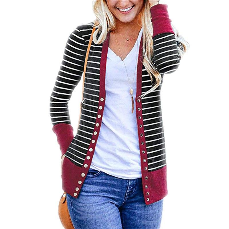 Elegant   Basic     Jackets   Casual Cardigan Casaco Feminino Fashion   Basic   Coat Long Sleeve Loose and Comfortable   Jackets   Women   Basic