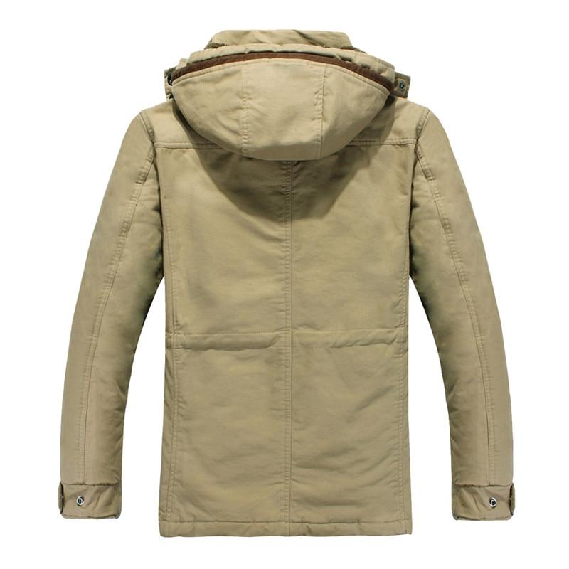 TUOLUNIU Cazadora casual de algodón para hombres de invierno - Ropa de hombre - foto 3