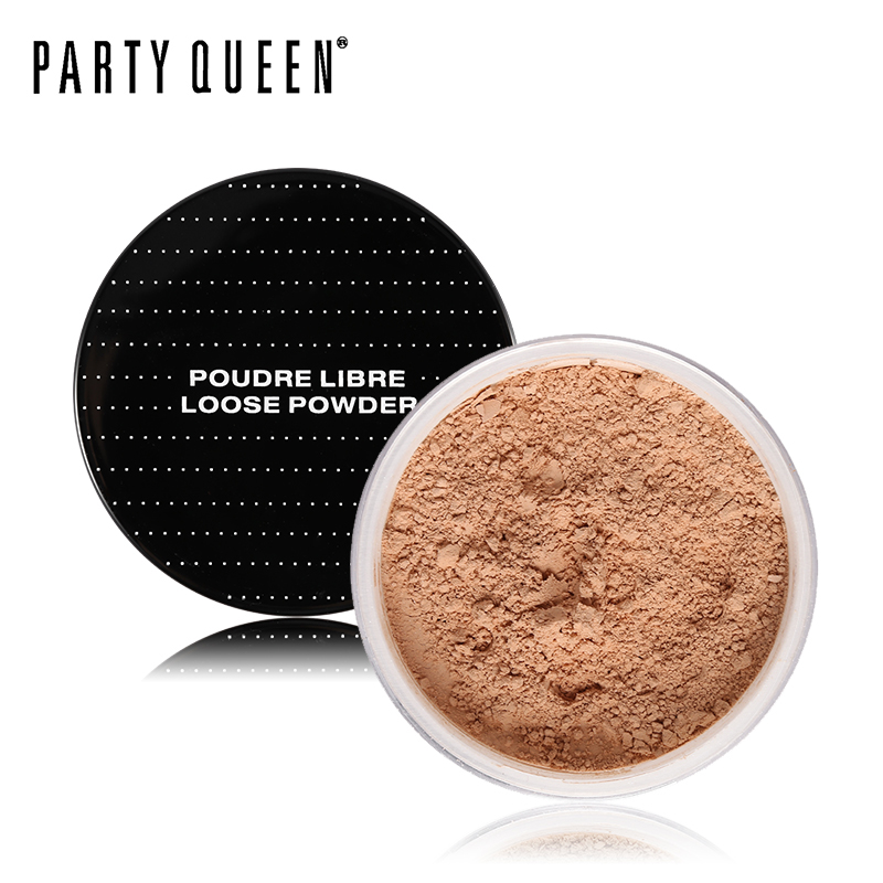 Party Queen Mineral Ultra Definition Loose Setting Powder 3 Color SPF 15 Oil-Control Finish Powder Makeup Superfine Sheer Finish