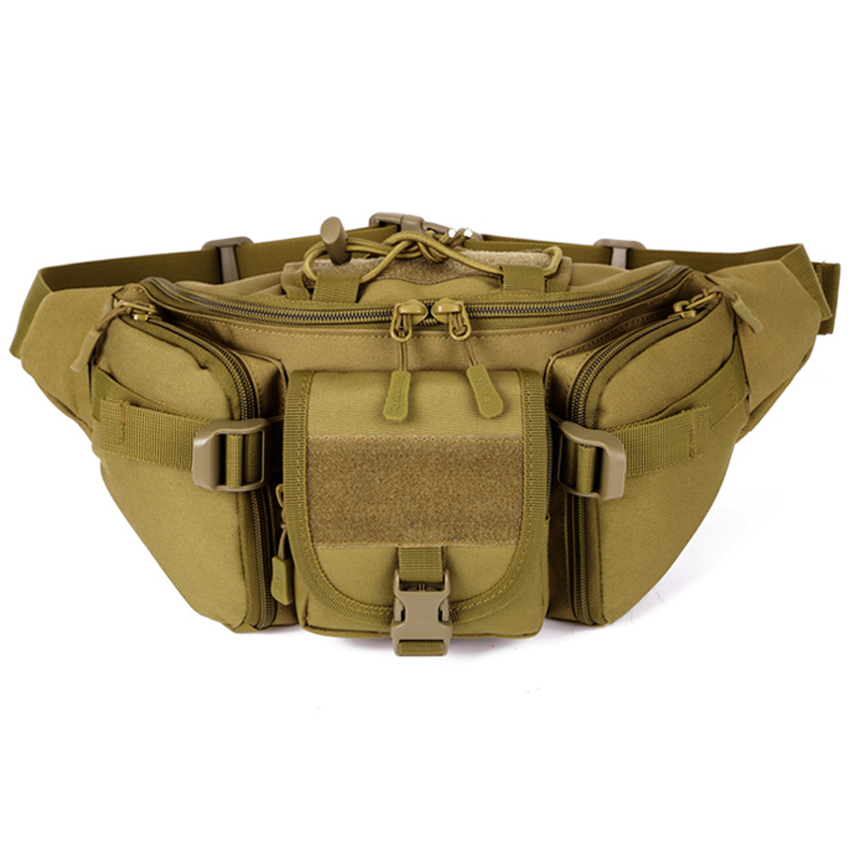 Hot Outdoor Shoulder Military Tactical Backpack Camping Travel Hiking Trekking Waist Bag outlife new style professional military tactical multifunction shovel outdoor camping survival folding spade tool equipment