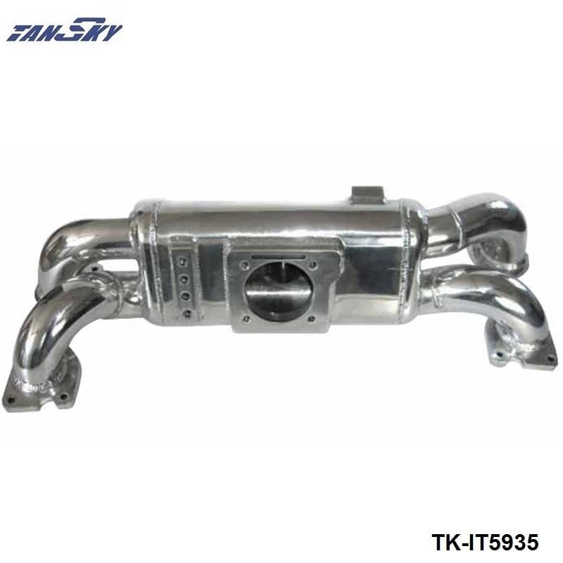 Tansky Engine Swap Turbo Intake Manifold For Subaru WRX EJ20 High Performance Polished TK-IT5935 epman for mitsubishi evo 1 3 cast aluminum turbo intake manifold polished jdm high performance ep it5941