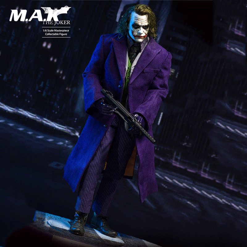 1/6 The Joker Planted Hair Box_Set Figure Model Collectible Model Toy Gift 12