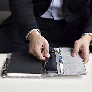 Image 2 - Youpin Kaco Noble Papier Notebook Pu Leather Card Slot Wallet Boek Met Teken Pen Gift Voor Kantoor Reizen Vergadering Kind