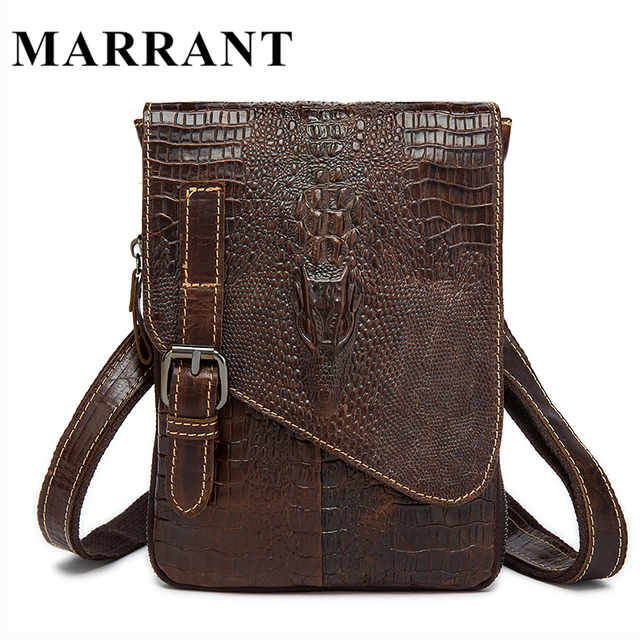 Genuine Leather bag Men Messenger Belt Waist Packs Small Crossbody Bags for Man Shoulder Bags Men Waist Bag Waist Pack 2017