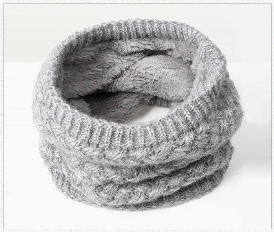 Зимний теплый шарф вельветовый хлопковый шарф на шею для мальчиков и девочек удобный для мужчин и женщин