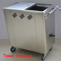 Movable Towel Steamer Disinfection Cabinets Stainless Steel Steam Heat Insulation Moisturizing Electric Towel Fire Kitchenware