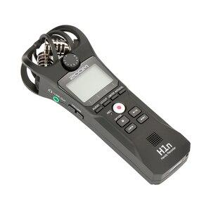 Image 4 - ZOOM H1 H1N poręczny rejestrator cyfrowy aparat fotograficzny rejestrator audio wywiad nagrywanie mikrofon stereofoniczny dla DSLR Boya BY M1 mikrofon