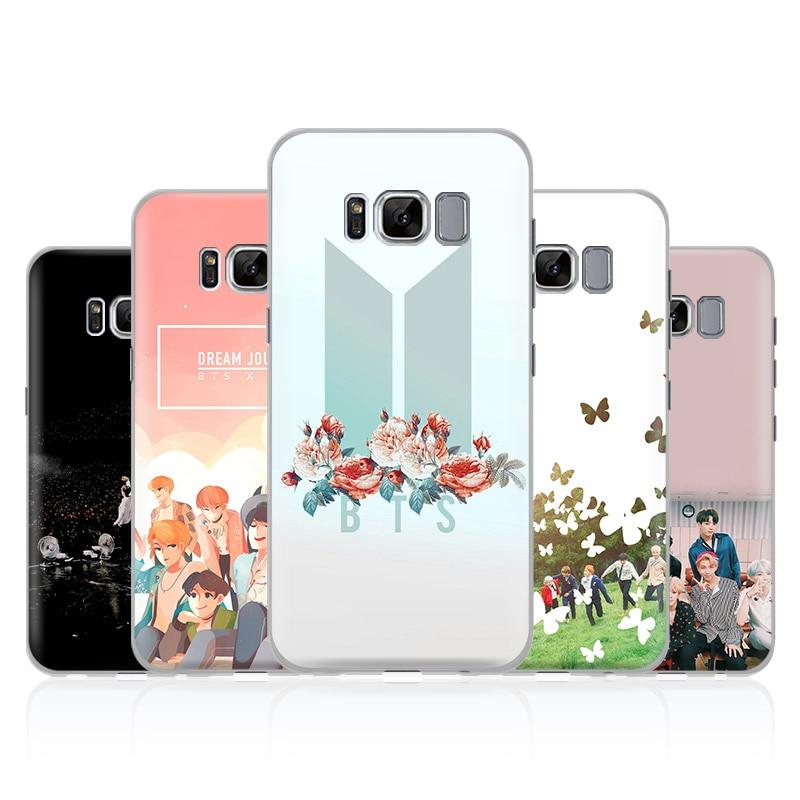 Bts Bangtan Boys Phone Case Cover Shell For Samsung Galaxy S4 S5