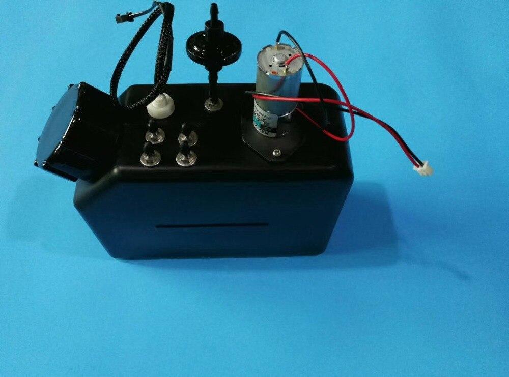 1.5L УФ чернилами УФ-принтера flated sub Танк чернильница с датчиком и перемешивание двигателя УФ объемных система чернил адаптер