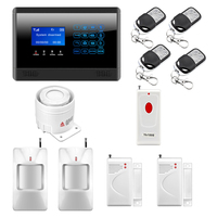 M2BX Wireless Wired GSM SMS Home House Security Intruder Alarm System With Touch Keypad Panic Botton