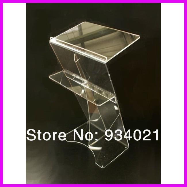 Acrylic Desktop Lectern / Acrylic Classroom Lectern Podium / Acrylic Podium Products