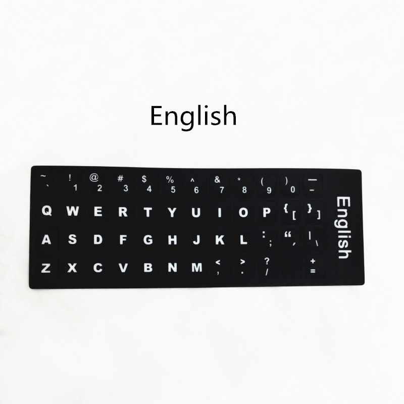 Многоязычная наклейка на клавиатуру трекпоинт шапки русский/испанский/Корейский/французский/немецкий/тайский/арабский/Иврит/японский/итальянский
