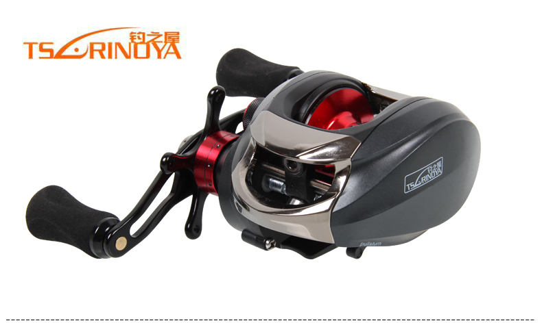 TSURINOYA Bait Casting Fishing Reel water drop wheel 14 Ball Bearings Drag Reel Canne Fishing Carretes Left Right Handle 18bb 1 ball water drop wheel bearings double brake baitcasting reel fishing gear right left hand bait casting fishing wheel