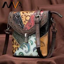 MVA luxury Bag Womens/ ladies Genuine Leather Handbags small Womens/woman Shoulder Bags Vintage Crossbody Bags For Women 86388