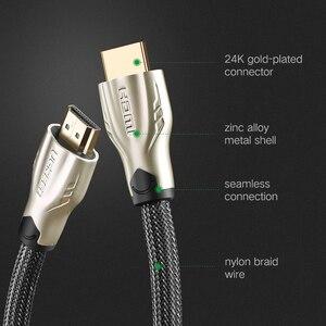 Image 5 - Ugreen Cable HDMI a HDMI 2,0 HDR 4K para Xiaomi Splitter Extender adaptador Nintendo Switch PS4 TV Box 5m 10m Cable HDMI