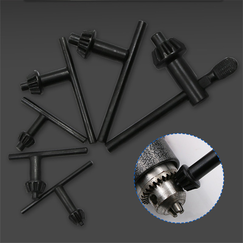 6 Sizes Multifunctional Electric Drill Chuck Keys Wrench Household Electric Tools Accessories