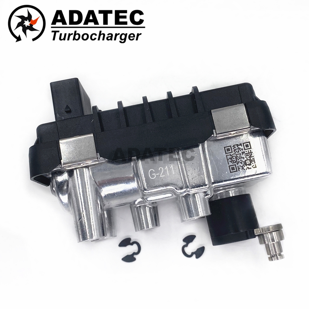 GT2260V G 211 G211 712120 turbo electronic actuator 742730 turbine 11657790308 for BMW 530 d E60