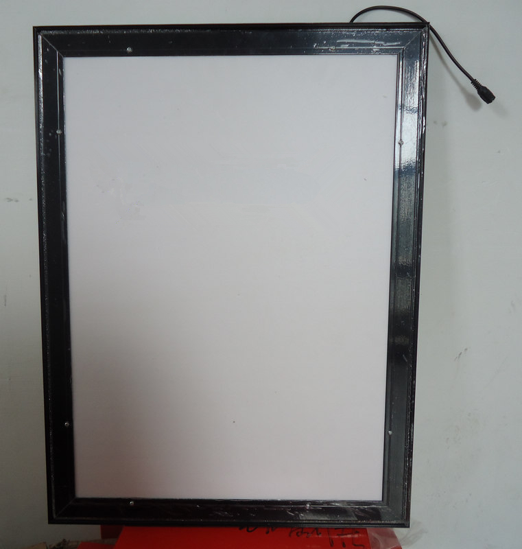 A3 SIZE MAGNETIC ALUMINUM FRAME BACKLIT LED LIGHT BOX WALL MOUNTED ...