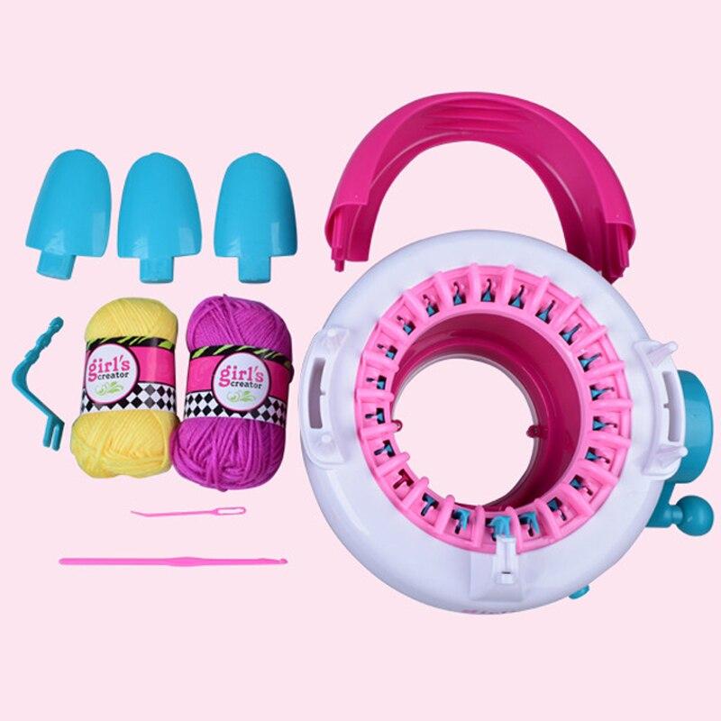 Aiguille à coudre Outils Bricolage Main Machine à tricoter métier à tisser pour écharpe chapeau Nice Y