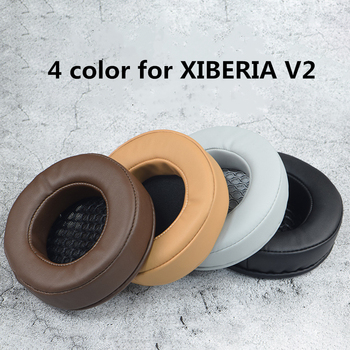 Replacement Foam Ear Pads Cushions for XIBERIA V2 Headphones High Quality Black Brown Earpads soft foam ear pads cushions for sennheiser urbanite xl headphones high quality protein skin 11 2