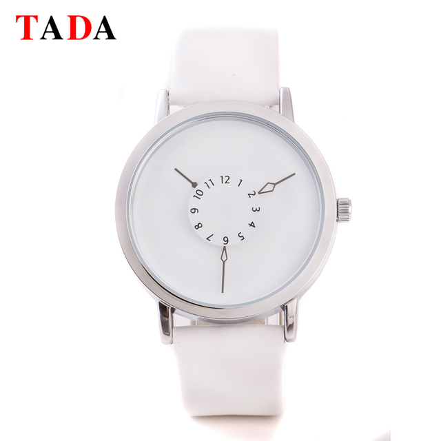 Top Luxury Brand TADA T1010 Relojs female Genuine Leather Strap Watches Women Japan Movement  3ATM Wateproof lady watches