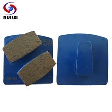 Diamond Floor-Grinder Grinding-Shoes Disk Concrete Metal RIJILEI for Strong Magnetic-Plate