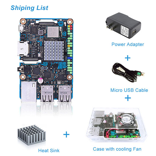 Tinker board S update0724 shipping list 500x