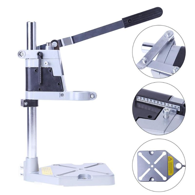Single Head Accessory Electric Drill Stand Holder Bracket Grinder Rack Clamp Dremel Mini Drill for Woodworking