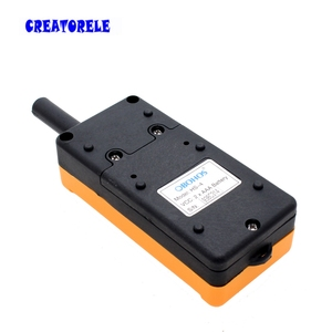 Image 4 - New Arrivals crane industrial remote control HS 4 wireless transmitter push button switch China